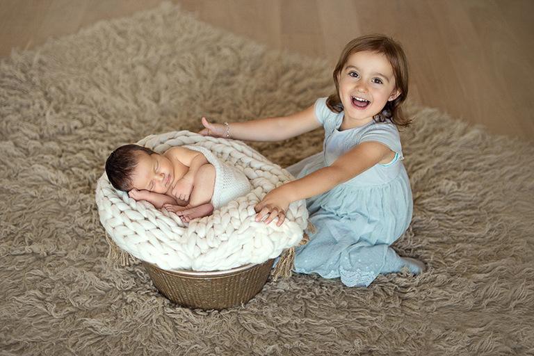 Fotoshooting trotz Corona Baby Zürich
